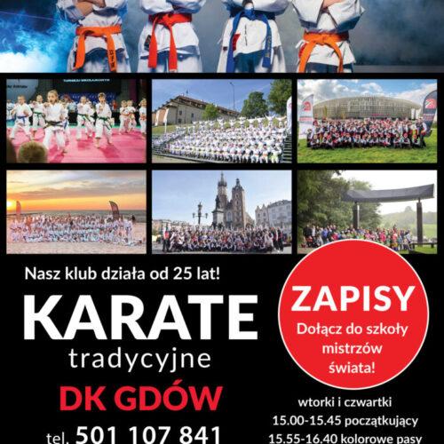 Karate w Centrum Kultury w Gdowie